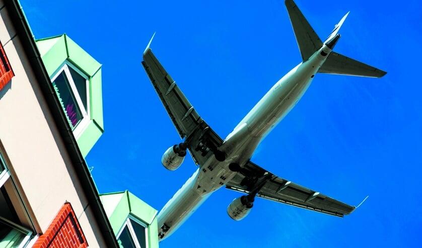 De gemeenten zijn de hinder van  vliegtuigen zat.