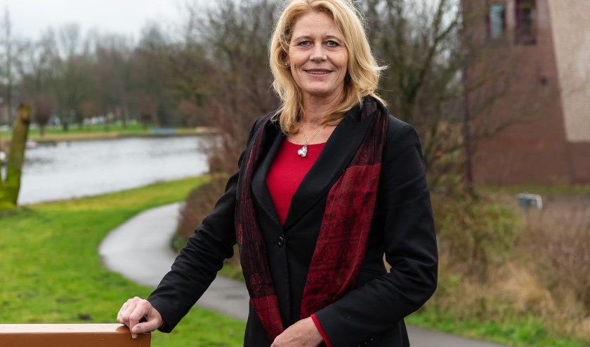 Scheidend burgemeester Luzette Kroon hoopt dat ze van veel Waterlanders persoonlijk afscheid kan nemen.