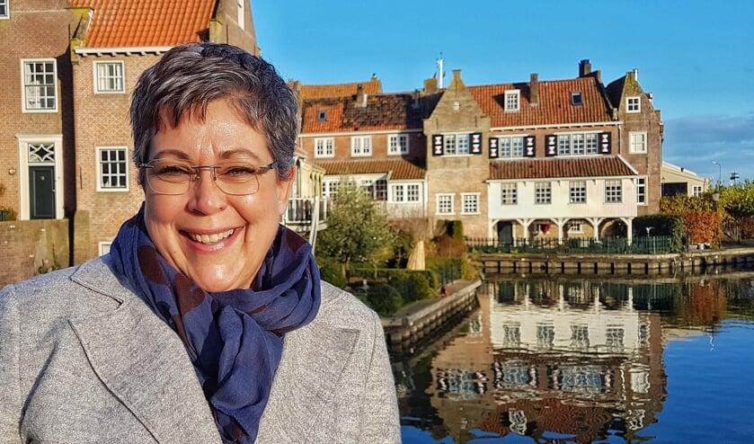 Esther Keesman ontwikkelde Rare straatnamenroute door Enkhuizen.