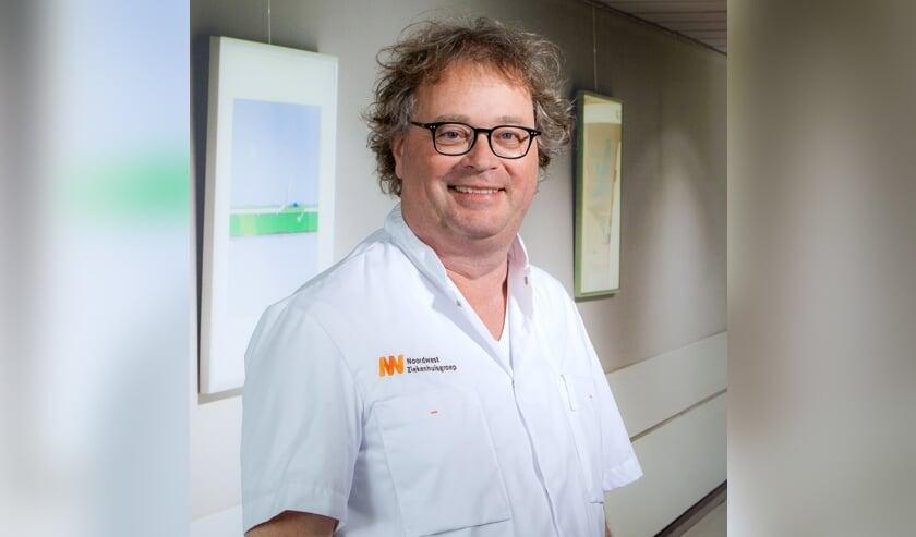 Dermatoloog Menno Gaastra.
