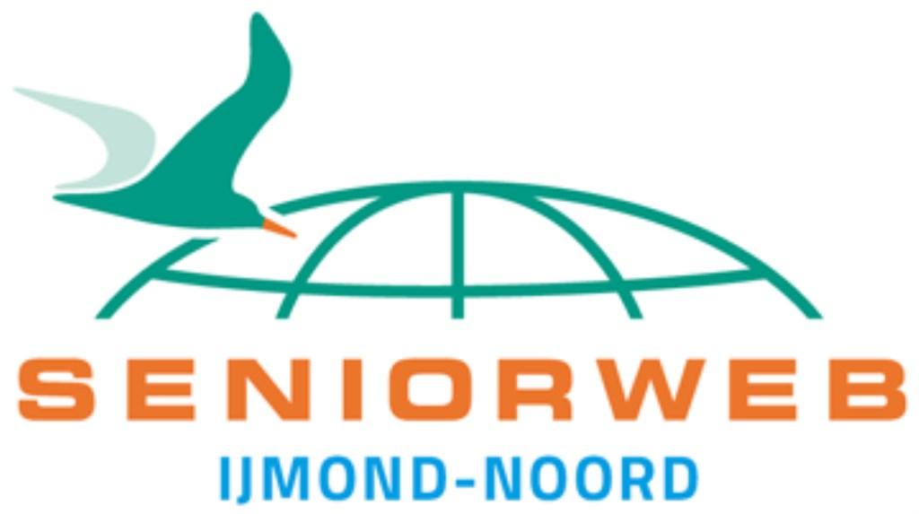 Het logo van Seniorweb IJmond-Noord.  © rodi
