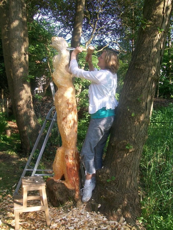 De veelzijdige Anja Jonker timmert al langer aan de weg.  © rodi