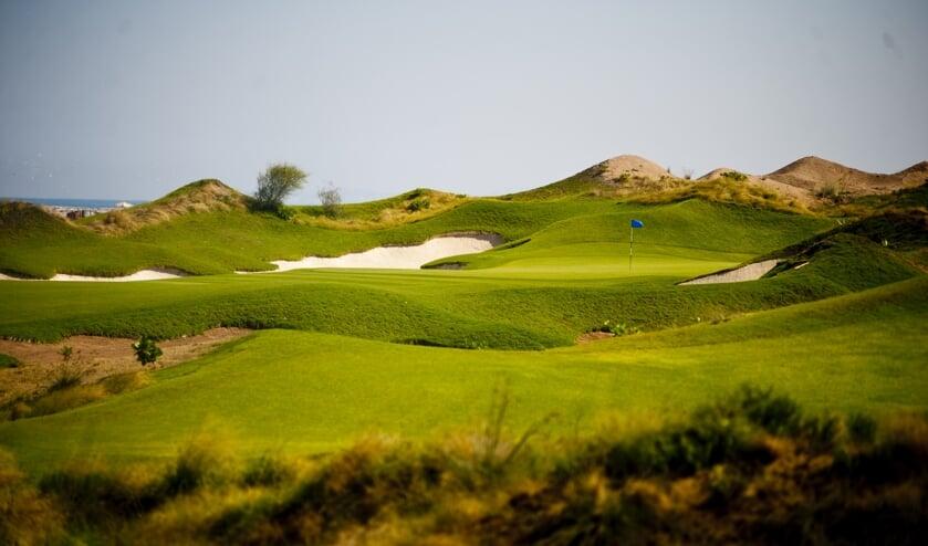 De geweldige Al Mouj Golf Club, waar Joost Luiten in 2018 nog toernooiwinnaar werd.