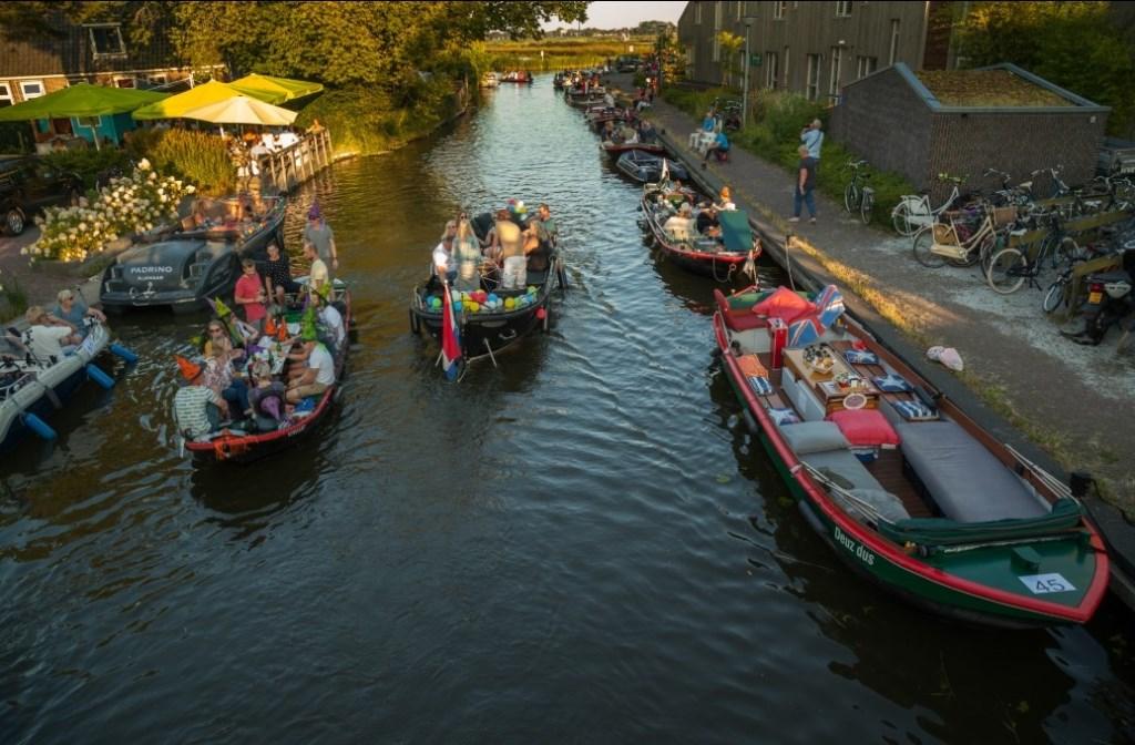 Lichtjesavond Langedijk, een van de succesvolste evenementen van Langedijk Waterrijk. (Foto: Langedijk Waterrijk) © rodi