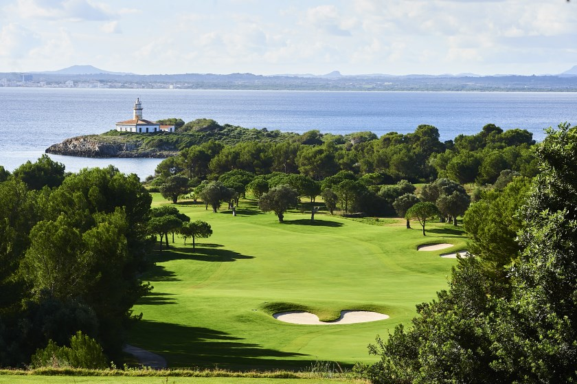 MALLORCA, SPAIN - NOVEMBER 05: General view of the Golf Alcanada golf course prior to the Challenge Tour Grand Final at Club de Golf Alcanada on November 05, 2019 in Mallorca, Spain. (Photo by Aitor Alcalde/Getty Images)