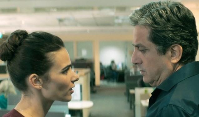 Scene uit de film Working Woman.