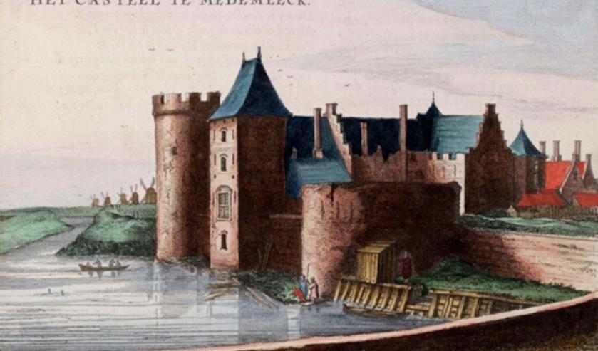 Kom alles te weten over de middeleeuwse bouw van het kasteel en de omgevingstoestand.