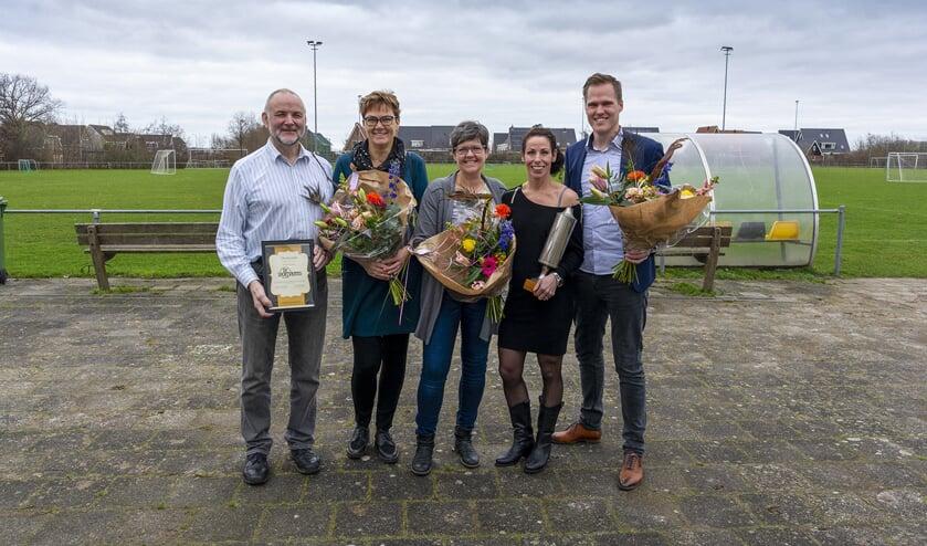 Prijzen sportverkiezing 't Zand 2019 uitgereikt.
