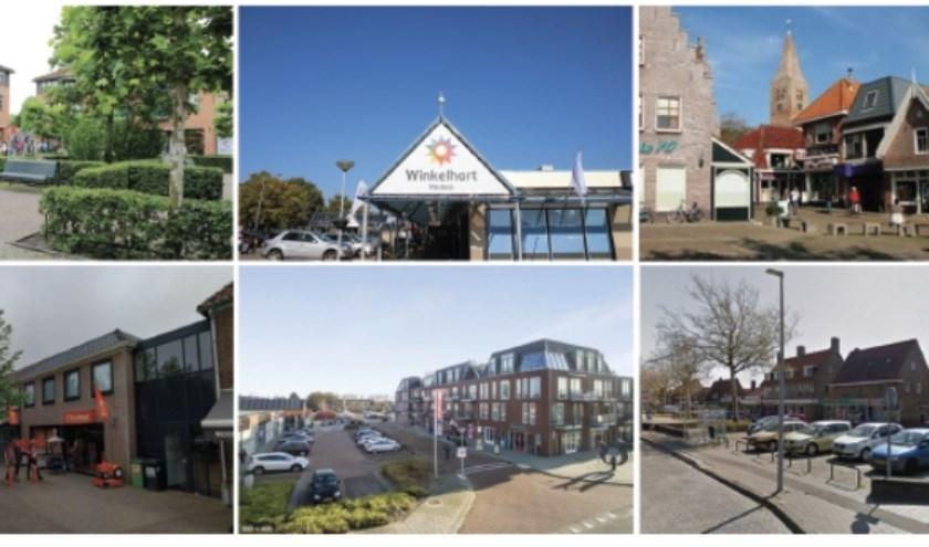 Winkelcentra in gemeente Hollands Kroon.