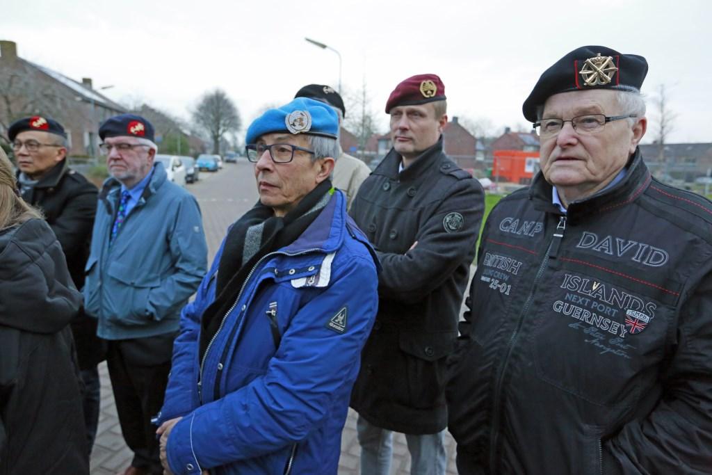 Ook was een aantal veteranen bij de speciale herdenking aanwezig. (Foto: Theo Annes) © rodi