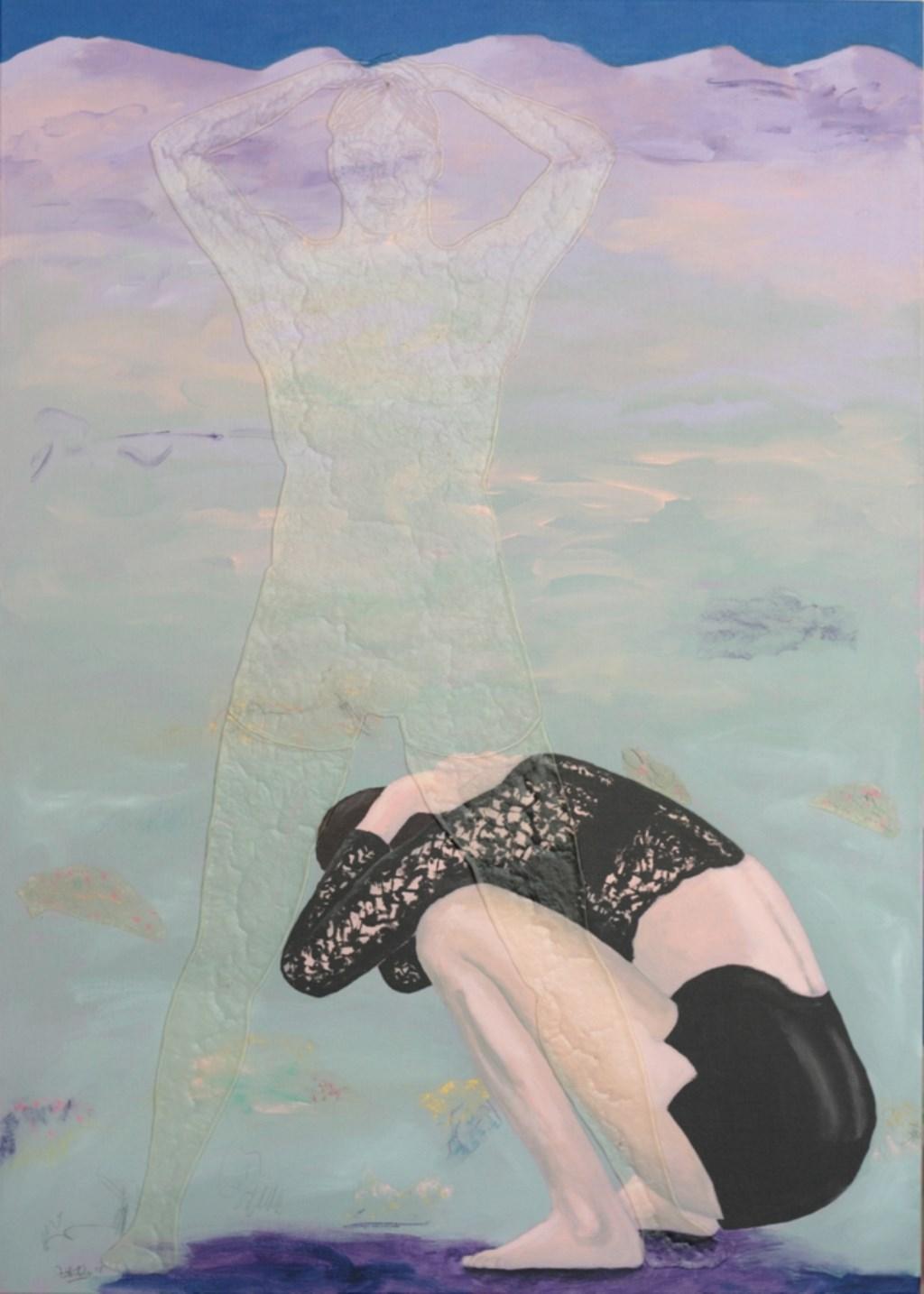 Bonnie Severien: Rhythm acryl op doek. Aangeleverde foto © rodi