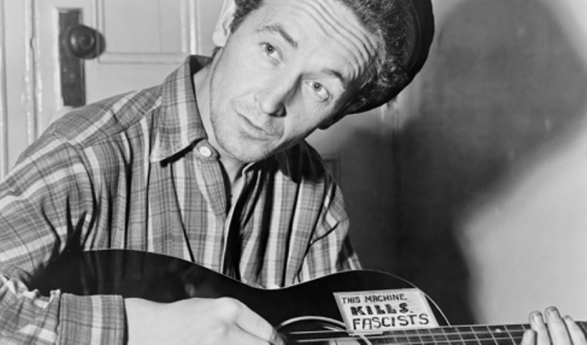 Guthrie bepalend voor Amerikaanse folkmuziek.