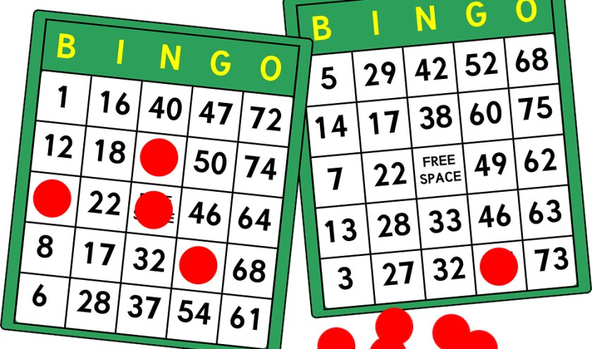 Bingo in wijkcentrum De Zaagtand.