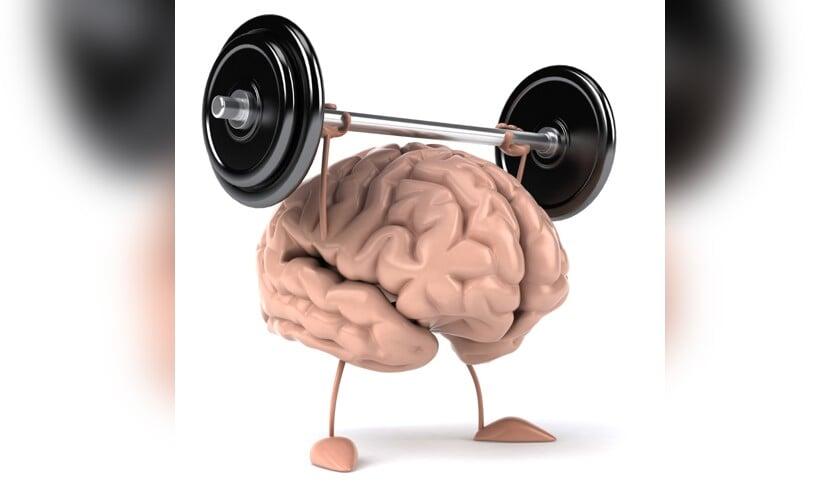 Houd de hersenen gezond.