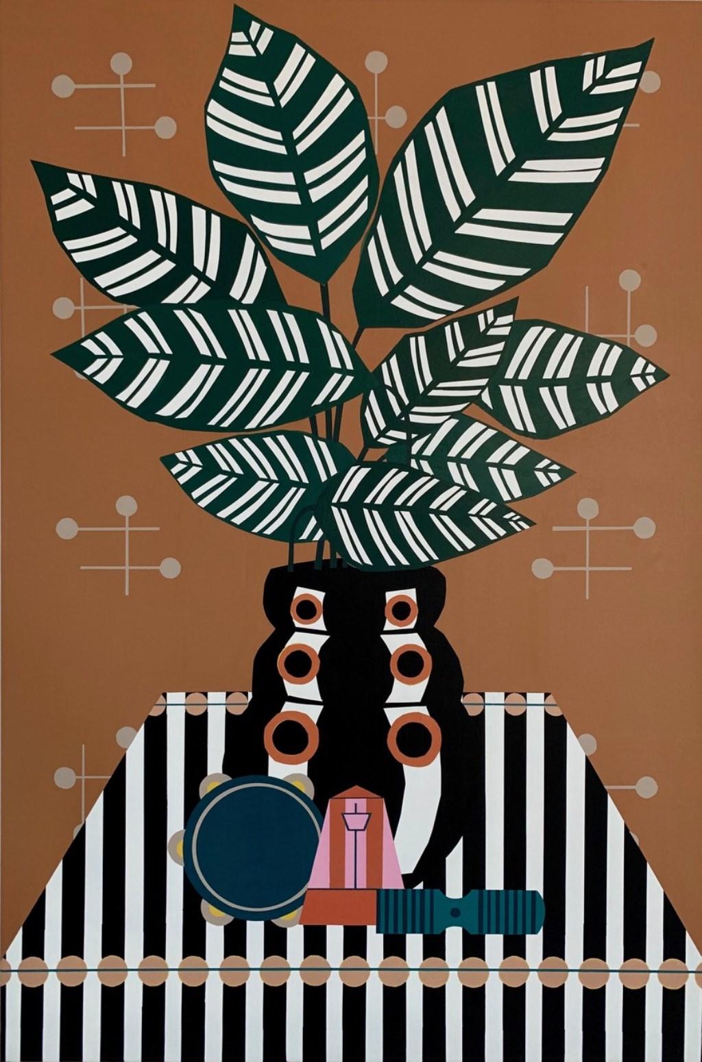 Joost Speet: Kom met barst hout, staal, pigment op brons. Aangeleverde foto © rodi