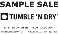 Sample Sale Tumble 'n Dry