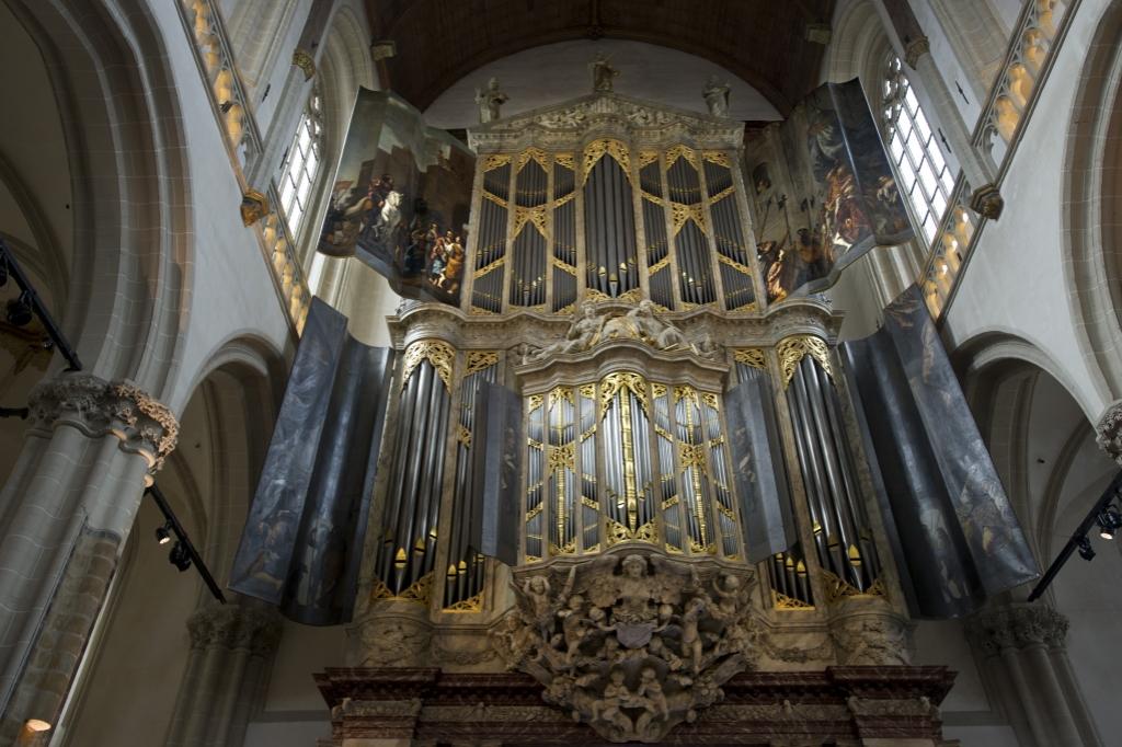 <p>In De Nieuwe Kerk Amsterdam staat het grootste historische orgel van Nederland. </p> ((Foto: Evert Elzinga)) © rodi