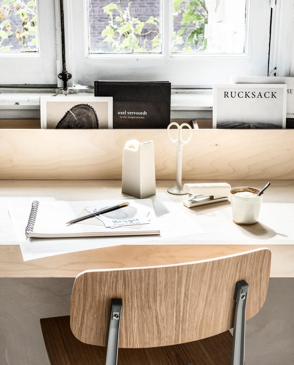 DIY thuiswerkplek. (Foto: Sjoerd Eijckmans) © rodi