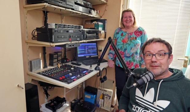 <p>Marieke Neesen en Ron Overtoom zijn een goed radio duo. </p>