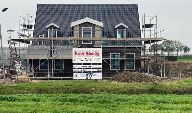 <p>Nieuwbouw vrijstaande woning.</p>