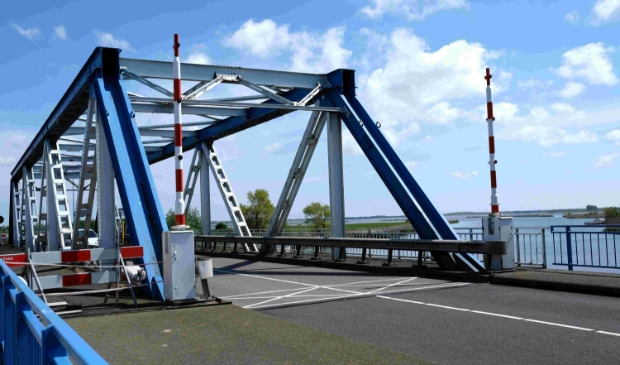 Werkzaamheden aan de Balgzandbrug