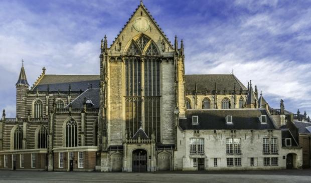 <p>De Nieuwe kerk in volle glorie.</p>