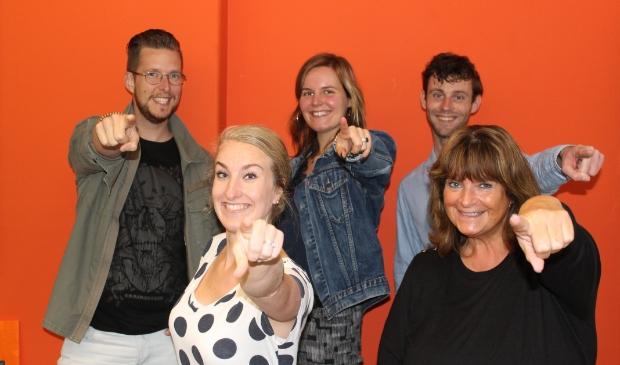 <p>Het enthousiaste team Jong Westfriesland in Actie.</p>
