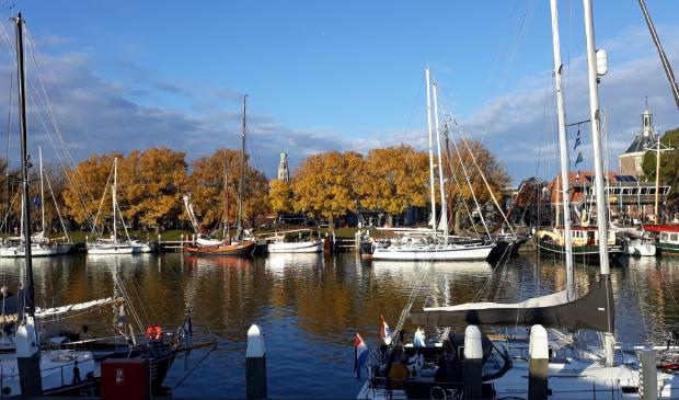 <p>Haven in Enkhuizen: altijd mooi.</p>