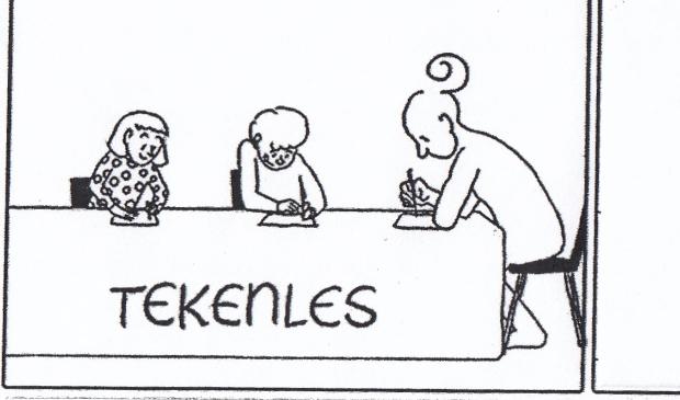 <p>Een stripje van Hanna Looye met de vraag hoe jij het middelste plaatje zou invullen.</p>