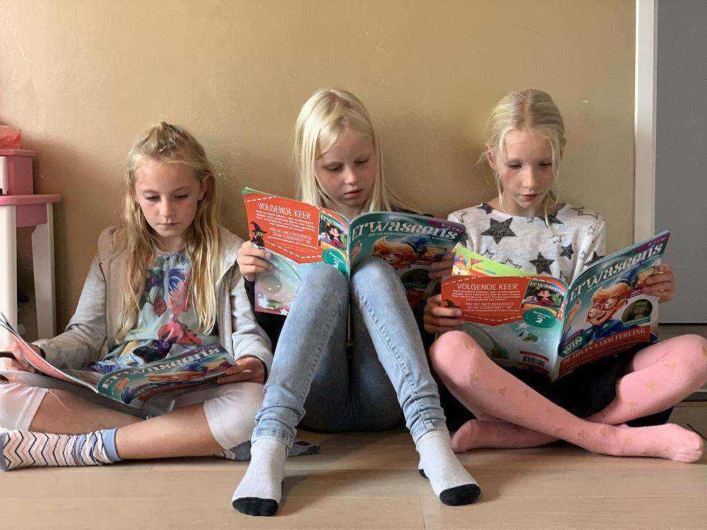 <p>Boeken zijn te dik. Lezen is saai, &eacute;n het moet van school, oordeelt haar dochter. </p> <p>(Foto: aangeleverd)</p> © rodi
