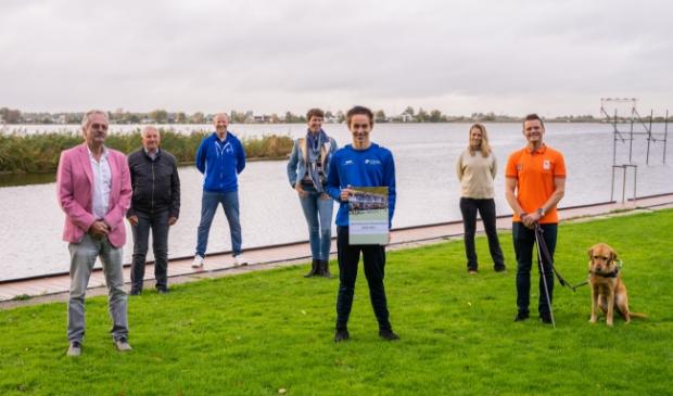 <p>De betrokkenen bij het Sportakkoord; Scwo/Brede School, de sportformateur, wethouder Kees van Waaijen, de buurtsportcoach en inwoners. </p>