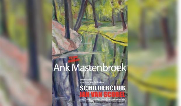 <p>Ank Mastenbroek al 25 jaar lid van de club</p>