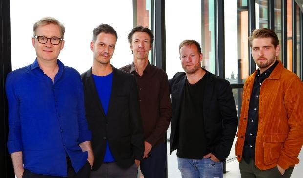 <p>Het Jasper Blom Quartet.&nbsp;&nbsp;</p>