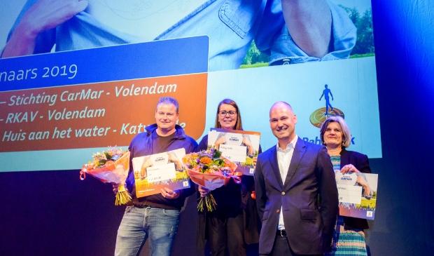 <p>Stichting CarMar uit Volendam ontving vorig jaar een cheque met de hoogste waarde, namelijk &euro; 3.912 voor de inrichting van hun tehuis.&nbsp;</p>