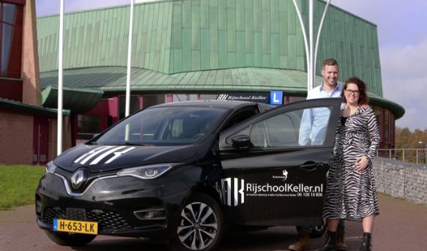 <p>Voor zijn geliefde Doreen verhuisde Frans m&eacute;t zijn rijschool naar Hoorn.</p>