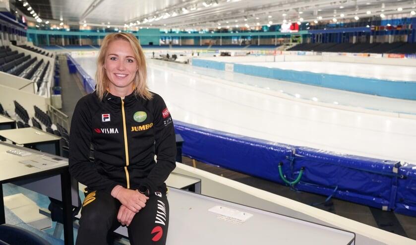 <p>Carlijn Achtereekte: ,,Ik weet niet hoe lang ik nog schaats, maar ik wil in de jaren die ik nog heb wel &aacute;lles eruit halen.&rsquo;&rsquo; (Foto Timsimaging)</p>