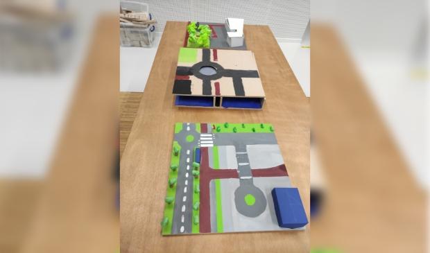 <p><em>De leerlingen van het Sint Michael College maakten maquettes van de verkeerssituatie en de mogelijke oplossingen.</em></p>