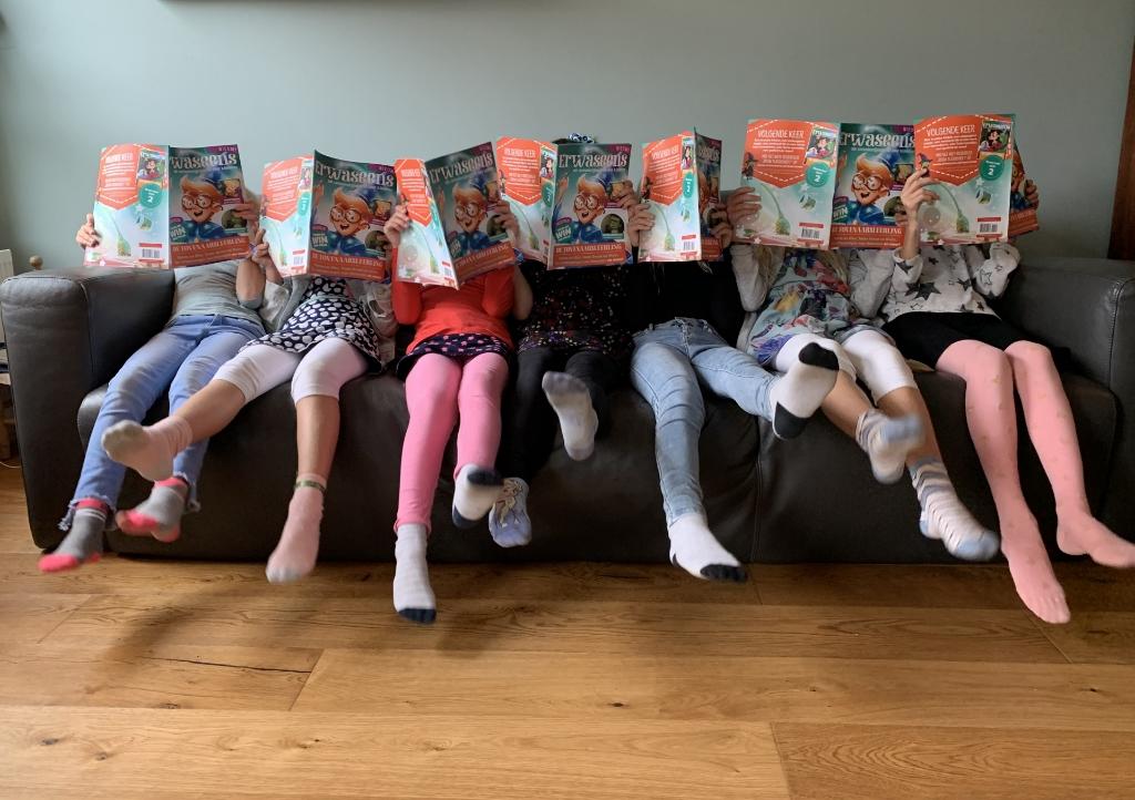 <p>Dit wil toch iedere ouder: lezende kinderen!</p> <p>(Foto: aangeleverd)</p> © rodi