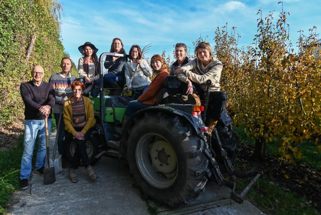 <p>De kartrekkers van West-Friesland Herenboeren.</p> <p>Foto: Theo Groot</p> © rodi