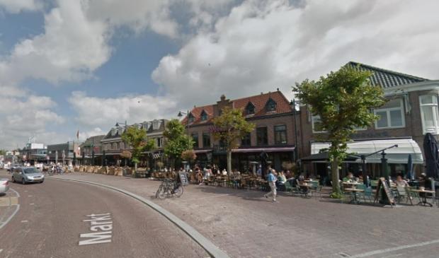 De situatie op de Markt in Schagen wordt weer normaal.