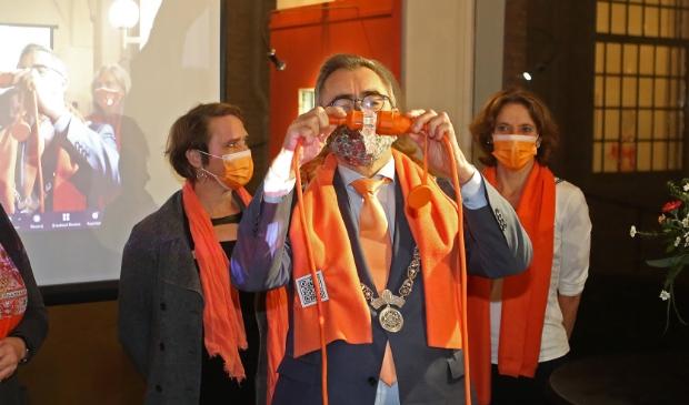 Jos Wienen kleurt Haarlem oranje.