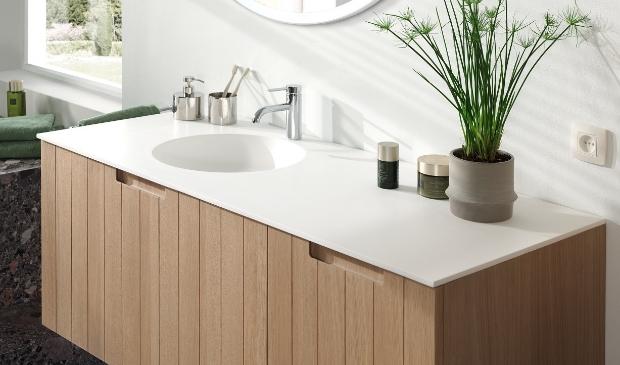 SolidFace: nieuw materiaal voor in badkamer.
