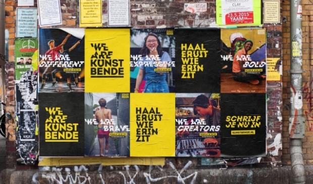 <p>Campagne om deel te nemen aan de Kunstbende.</p>
