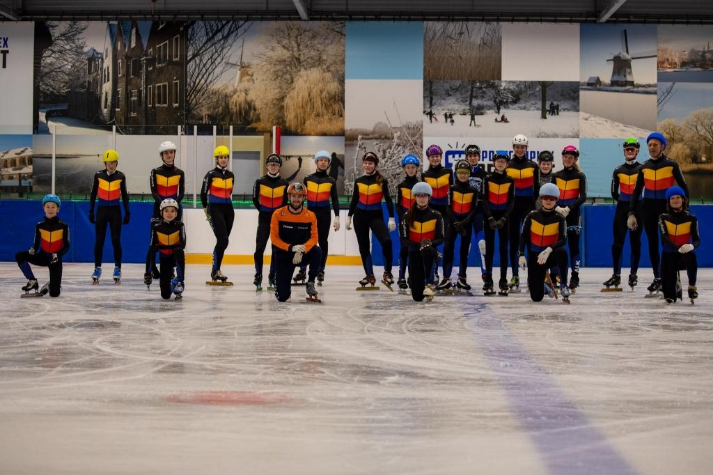 groepsfoto op het ijs (Foto: Ronald Goud) © rodi