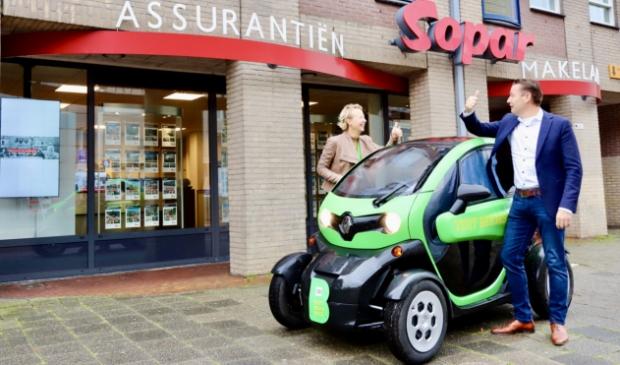 <p>Marc Jonk van Sopar en Dani&euml;lle Woudstra van VISIT Beemster zijn blij met de samenwerking.&nbsp;</p>