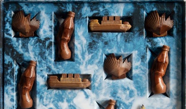<p>Het Noordzeebanket, een variant op het alom bekende chocolade zeebanket, is een wake-up call die een minder smakelijke kant van de Noordzee toont.&nbsp;</p>