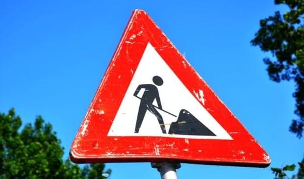 <p>Werk in uitvoering om verkeersveiligheid te verhogen.</p>