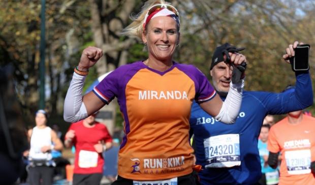 <p>Miranda is het nieuwe campagnebeeld van de Run voor KiKa.</p>