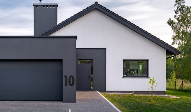 XXL huisnummers in trendy zwart.