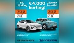 Hyundai met € 4.000,00 korting